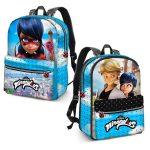 Mochila escolar Ladybag,mochila cat noir, mochilas escolares, mochilas cat noir y ladybug, mochila escular ladybug y cat noir