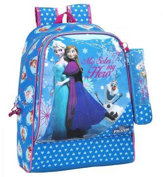 Mochila frozen escolar, frozen mochila, mochila frozen rosa,